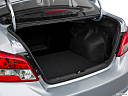 2018 Mitsubishi Mirage G4 ES, trunk open.