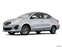 2018 Mitsubishi Mirage G4 ES, low/wide front 5/8.