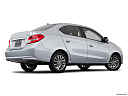 2018 Mitsubishi Mirage G4 ES, low/wide rear 5/8.