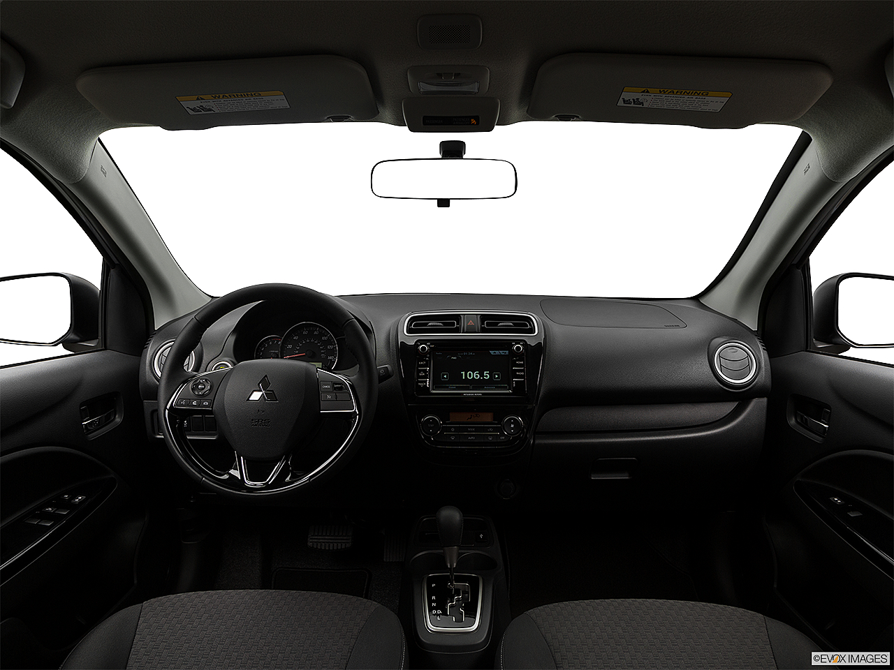 2018 Mitsubishi Mirage SE, centered wide dash shot