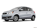 2018 Mitsubishi Mirage SE, low/wide front 5/8.