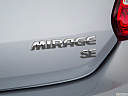 2018 Mitsubishi Mirage SE, rear model badge/emblem