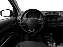 2018 Mitsubishi Mirage SE, steering wheel/center console.