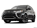 2018 Mitsubishi Outlander PHEV SEL S-AWC, front angle view, low wide perspective.