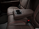 2018 Mitsubishi Outlander PHEV SEL S-AWC, rear center console with closed lid from driver's side looking down.