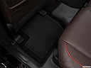 2018 Mitsubishi Outlander PHEV SEL S-AWC, rear driver's side floor mat. mid-seat level from outside looking in.