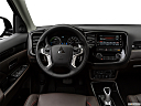2018 Mitsubishi Outlander PHEV SEL S-AWC, steering wheel/center console.