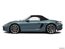 2018 Porsche 718 Boxster, drivers side profile, convertible top up (convertibles only).