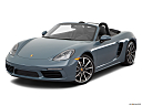 2018 Porsche 718 Boxster, front angle view.