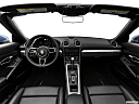 2018 Porsche 718 Boxster, centered wide dash shot