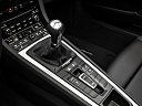 2018 Porsche 718 Boxster, gear shifter/center console.