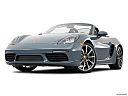 2018 Porsche 718 Boxster, front angle view, low wide perspective.
