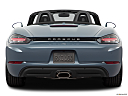 2018 Porsche 718 Boxster, low/wide rear.