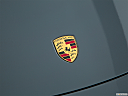 2018 Porsche 718 Boxster, rear manufacture badge/emblem