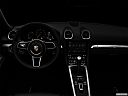 "2018 Porsche 718 Boxster, centered wide dash shot - ""night"" shot."
