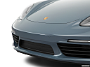 2018 Porsche 718 Boxster, close up of grill.