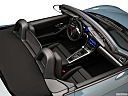 2018 Porsche 718 Boxster, convertible hero (high from passenger, looking down into interior).