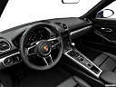 2018 Porsche 718 Boxster, interior hero (driver's side).