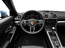 2018 Porsche 718 Boxster, steering wheel/center console.