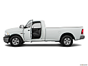 2018 RAM 1500 Tradesman, driver's side profile with drivers side door open.