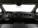 2018 RAM 1500 Tradesman, centered wide dash shot