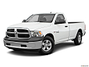 2018 RAM 1500 Tradesman, front angle medium view.