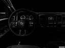 "2018 RAM 1500 Tradesman, centered wide dash shot - ""night"" shot."