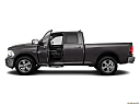 2018 RAM 1500 Big Horn, driver's side profile with drivers side door open.