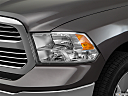 2018 RAM 1500 Big Horn, drivers side headlight.