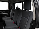 2018 RAM 1500 Big Horn, rear seats from drivers side.