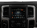 2018 RAM 1500 Big Horn, closeup of radio head unit
