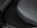 2018 RAM 1500 Big Horn, rear driver's side floor mat. mid-seat level from outside looking in.