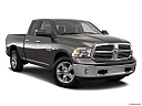 2018 RAM 1500 Big Horn, front passenger 3/4 w/ wheels turned.