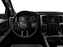 2018 RAM 1500 Big Horn, steering wheel/center console.