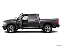 2018 RAM 1500 Express, driver's side profile with drivers side door open.