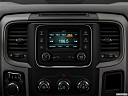 2018 RAM 1500 Express, closeup of radio head unit