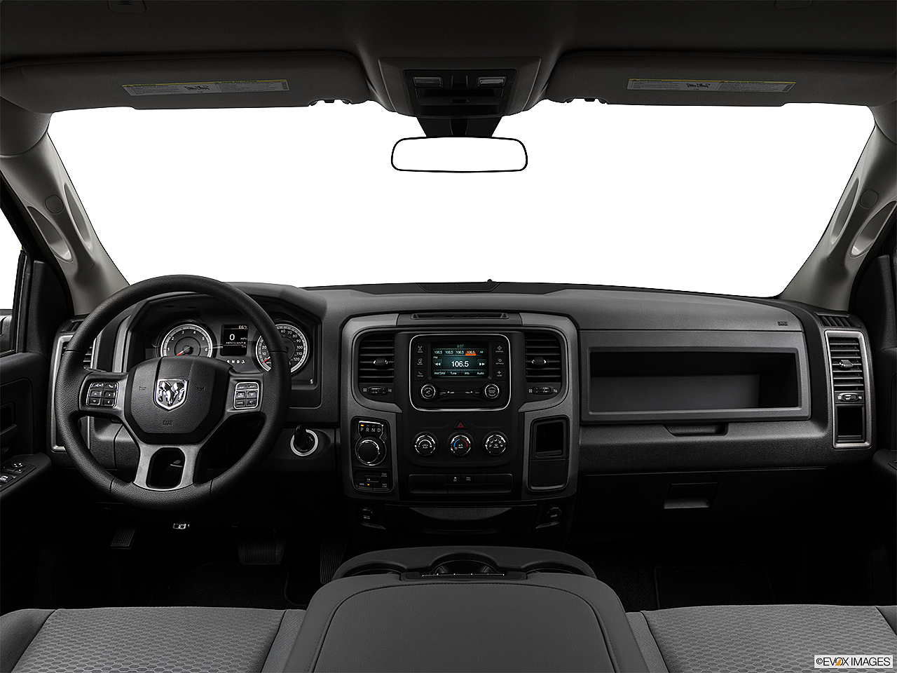 2018 RAM 1500 Express, centered wide dash shot