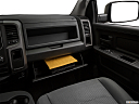 2018 RAM 1500 Express, glove box open.