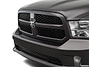 2018 RAM 1500 Express, close up of grill.