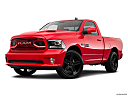 2018 RAM 1500 Sport, front angle medium view.