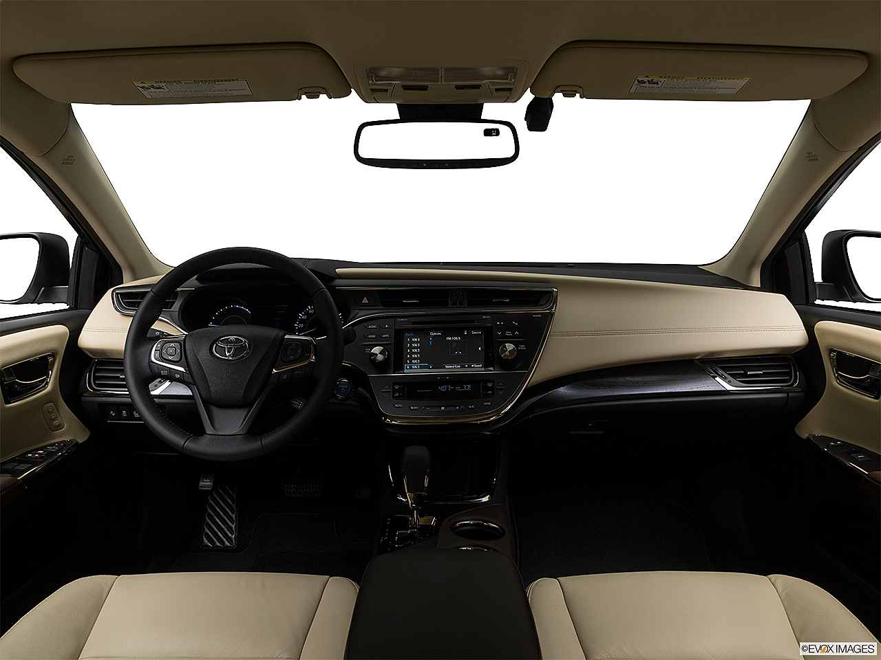 2018 Toyota Avalon Hybrid Xle Premium Centered Wide Dash Shot