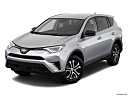2018 Toyota RAV4 LE, front angle view.