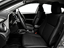 2018 Toyota RAV4 LE, front seats from drivers side.
