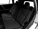 2018 Toyota RAV4 LE, rear seats from drivers side.