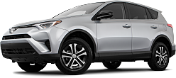 2018 Toyota RAV4 LE Stock Photo