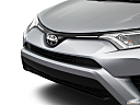 2018 Toyota RAV4 LE, close up of grill.