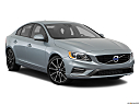2018 Volvo S60 T5 Dynamic, front passenger 3/4 w/ wheels turned.