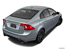 2018 Volvo S60 T5 Dynamic, rear 3/4 angle view.