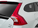 2018 Volvo V60 Cross Country T5 AWD, passenger side taillight.