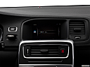 2018 Volvo V60 Cross Country T5 AWD, closeup of radio head unit